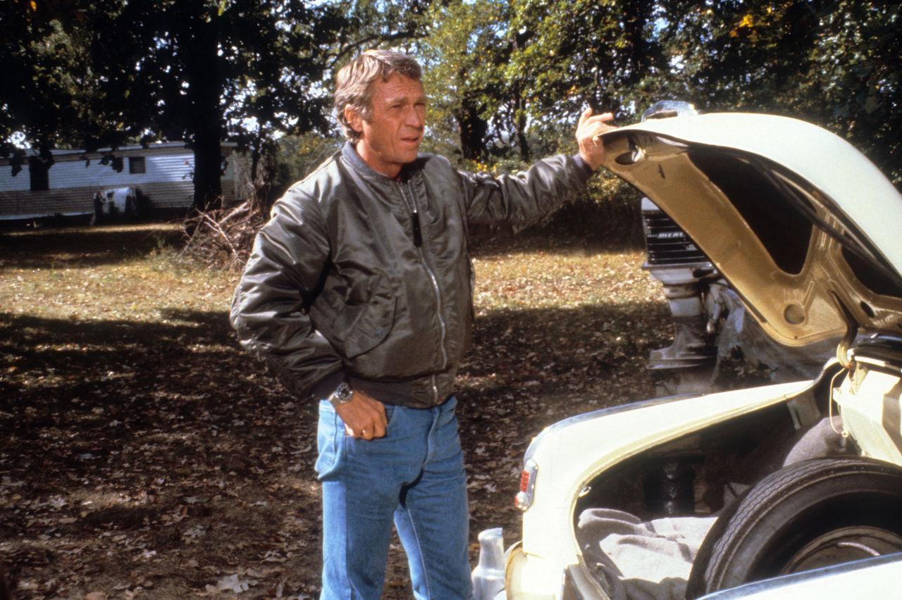 Steve Mcqueen bomber jacket